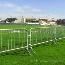 La ciudad de China cubrió el PVC y la barricada temporaria galvanizada de la cerca
