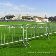 China town PVC coated & Galvanized temporary fence barricade