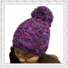 Tissu / chapeau en caoutchouc tricoté en jacquard tissé Jacquard Custom Design (1-3461)