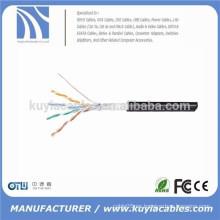 Cables vendedores calientes del cable cat5 cat5 cat5e cat7 de la red del Lan del UTP de Kuyia