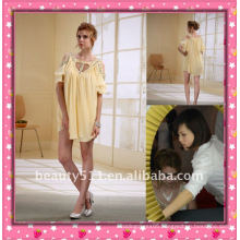 Astergarden New Design Emma Roberts Style Beaded Chiffon Mini Dress AS032-2
