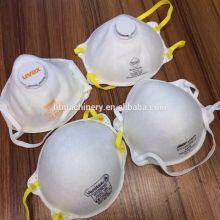 automatic ultrasonic cup N95 non woven dustproof mask making machine
