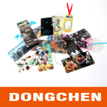 Various Rectangle PP 3D Lenticular Bookmark with String for Reading
