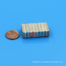 Imanes del cobalto del samarium del bloque de la alta calidad 20X10X3mm Canadá