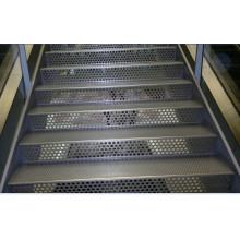 Perforated Aluminum Panel for Stairs