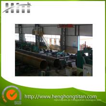 Calibração de fim e máquina de chanfradura da tubulação