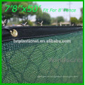 SIGHT SCREEN SHADE CLOTH, 1.8M X 30M 70% 155GSM TRANQUIL GREEN for Garden screening, Pool privacy Shade netting Crop Protection
