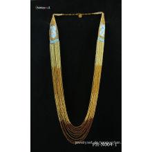 Handgefertigte Mode Halskette natürlichen Samen