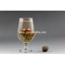Chá da flor do jasmim chá de florescência do sabor do chá