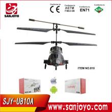 helicóptero iphone MARINES Misil Helicóptero para niños rc juguetes Lanzamiento de misiles