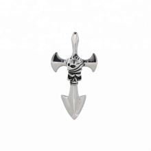pendentif-177 xuping bijoux en acier inoxydable de mode pendentif croix viking ancre