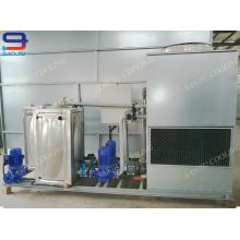 Unité de refroidissement à l'eau du condensateur GTM-2 à contre-courant du circuit fermé de Superdyma de 10 tonnes
