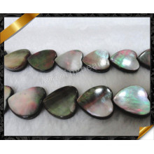 Abalone Paula Shell Loose Bead, Heart Beads (APS019)