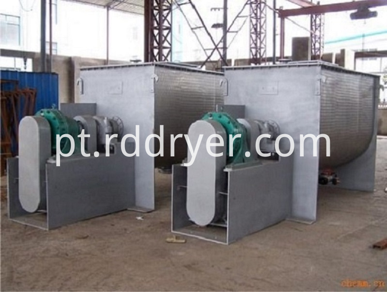 Horizontal Double Ribbon Blender Machine for Soybean Milk Powder