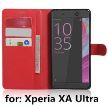 Сотовый телефон складной кошелек кожаный чехол для Sony Xa Ultra / C6