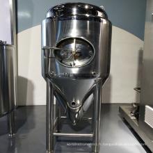 Cuves de fermentation d'équipement de brassage de bière d'acier inoxydable, cuves de stockage de vin
