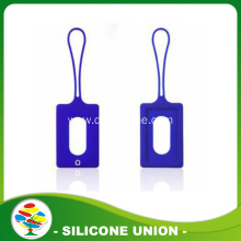 Simple designed silicone luggage tag