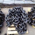 Cadena de ancla de barco de acero forjado Drop marino