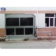 100 Ton Closed Circuit Cross Flow GHM-100 Cooling Tower Fülle Nicht runder Nass Chiller für Zwischenfrequenz Ofen