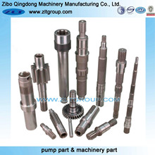 Water Pump Replaceable Chemical Pump Shaft for Machining