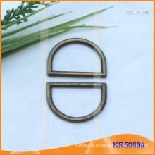 Tamaño interior 25mm Metal Hebillas, Regulador de metal, Metal D-Ring KR5069