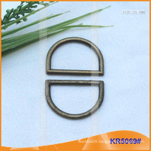Inner size 25mm Metal Buckles, Metal regulator,Metal D-Ring KR5069