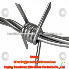 High quality hot-dipped galvanized Double Twisted Barbed Wire with reasonable price in store
