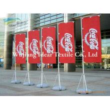 100 % Polyester Werbung Fahnen/Polyester bedruckt Banner