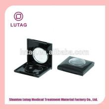 1 color de empaquetado cosmético negro vacío plástico caso de Blush