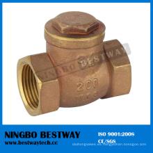 Válvula de retención de latón roscada hembra con alta calidad (BW-C04)