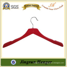 Alibaba China Supplier Dress Hanger Mulheres Tops Cabides de pano