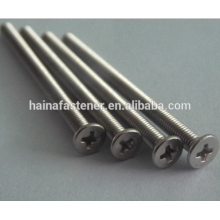 Stainless Steel Flat Countersunk Head screw
