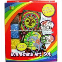 Kits feitos artesanalmente para artesanato para crianças, creat maravilhoso 3d eva art