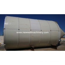 200T apernadas Silo de cemento para planta mezcladora de concreto