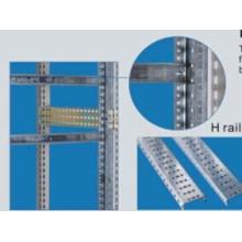 H-Schiene für leere Frontplatte