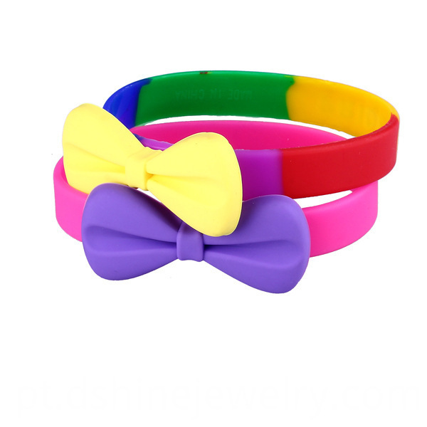 Bowknot Silicone Mosquito Repellent bracelet