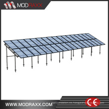 Sistema de enrutamiento solar de techo de aluminio Green Power (XL207)