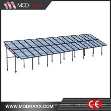 Système solaire en aluminium de bâti de toit de puissance verte (XL207)