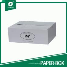 Emballage / expédition de viande de carton ondulé imprimé par logo