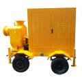 Bewegliche Dieselmotor-Wasserpumpe, die Zuhälter entwässert