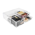 Acrylic Cosmetics Makeup Storage Case Display Counter