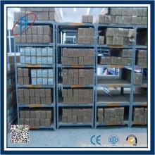 Leichtes Gewicht Stahl Lagerung Regal / Lager Regal / Schlitz Winkel Stahl Rack