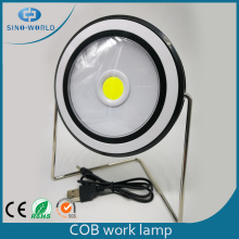 Rotatable Solar Rechargeable LED COB Work Light