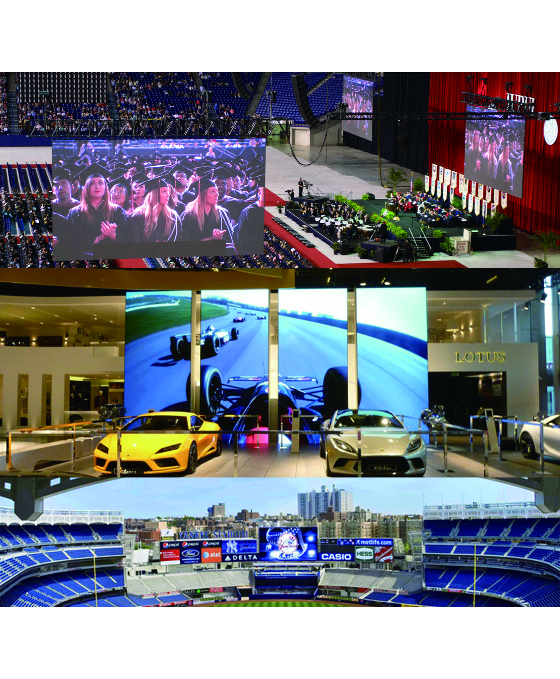 Outdoor P4.81 rental led screen display