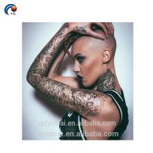 Mangas calientes del tatuaje de YinCai del sexo para el cuerpo de la señora, etiqueta engomada del tatuaje del brazo del tamaño grande