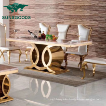 Luxury Restaurant Dining Hotel Banquet Wedding Event Furniture Table Set