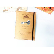 Best Selling Customized 32k Kraftpaper Cover Spiral Notebook
