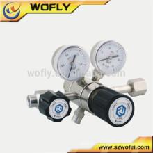 Regulador de pressão de freio regulador de argônio com medidor de vazão
