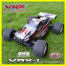 1/8th escala 4WD Rc carro elétrico, carro de Rc sem escova Vrx Racing Rc, poderoso carro rc