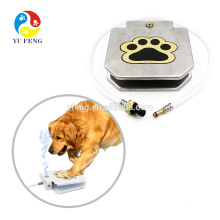 Pet Supply Automatic Outdoor Fresh Flow Paw Activate Step Pedal Stainless Steel Pet Dog Dispenser Drink Water Feeder Fountain Pet Supply Automatic Outdoor Fresh Flow Paw Activate Step Pedal Stainless Steel Pet Cat Dog Dispenser Drink Water Feeder Fountain